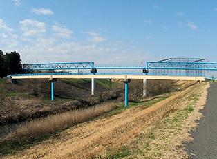 防食事例:人道橋